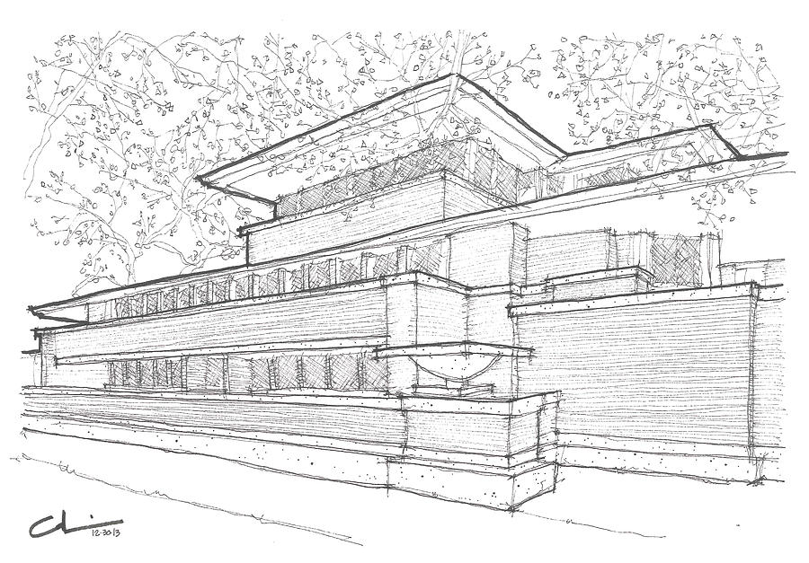 Robie house drawings related keywords suggestions robie house