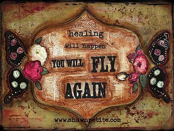 Fly Again Mixed Media