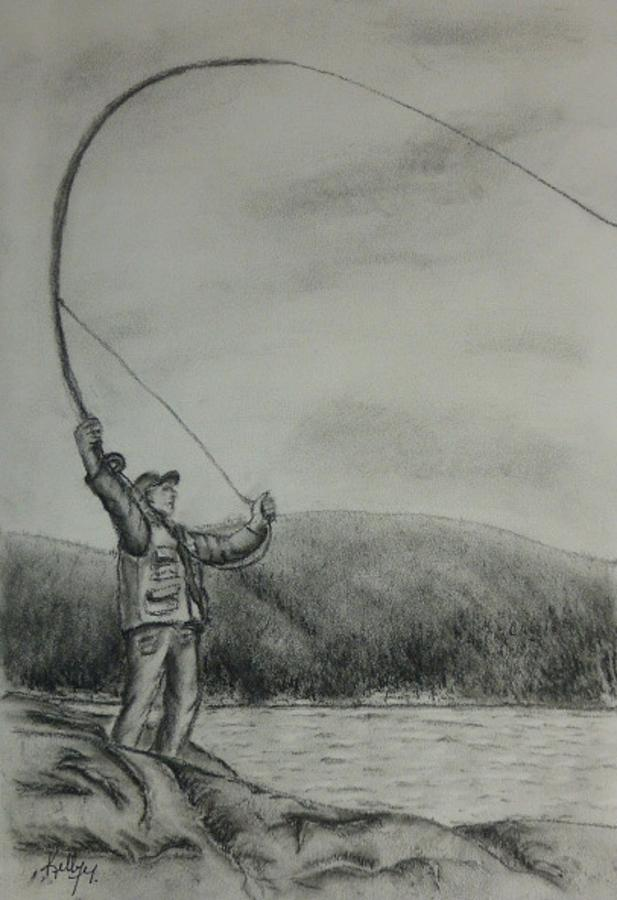 Fly fishing fly drawings - photo#22