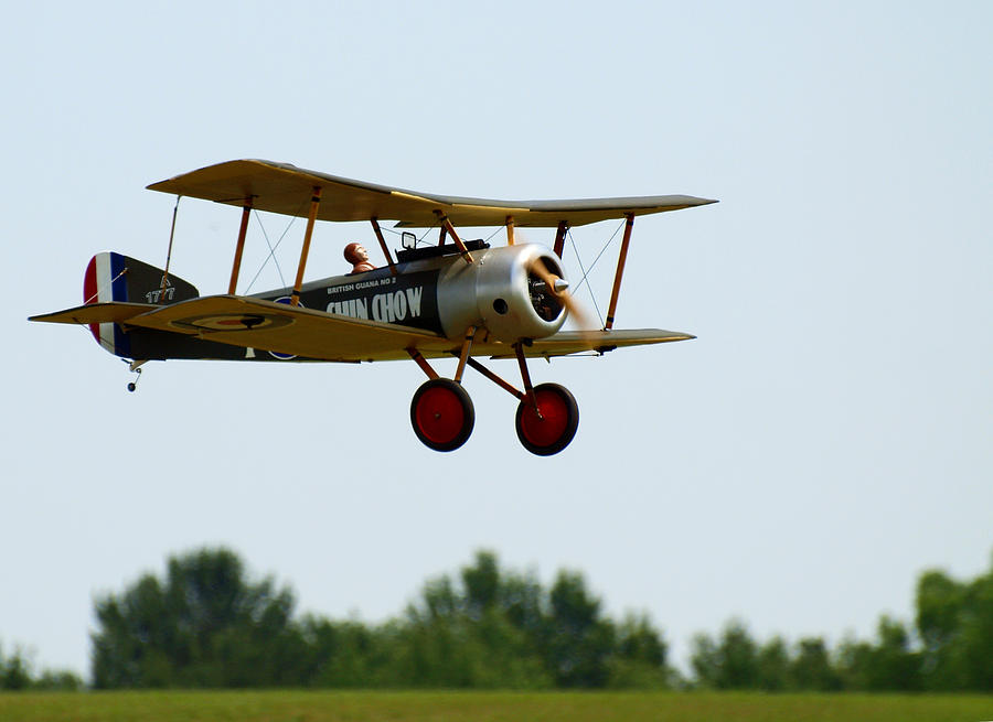 Radio Controlled Airplane Photograph - Flying Rc by Thomas Young