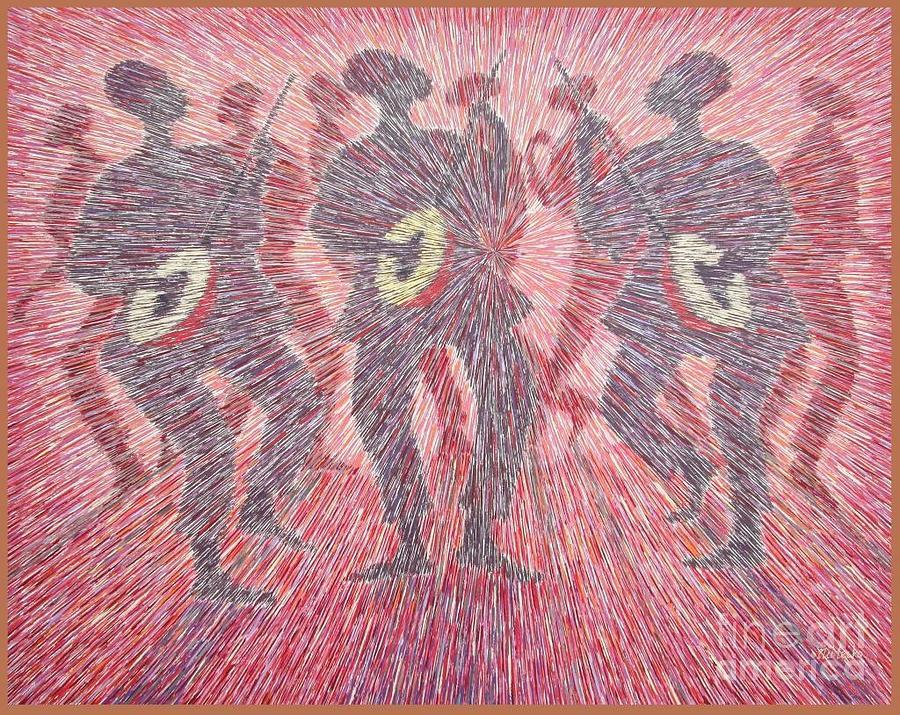 Focal Rhythm Painting