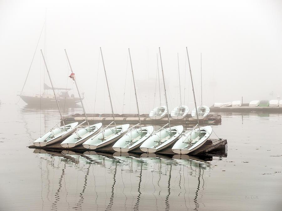 Boat Photograph - Fogged In by Bob Orsillo
