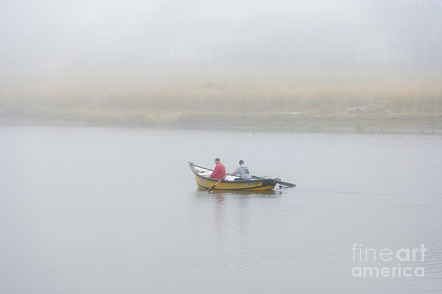 Nestucca Photograph - Foggy Nestucca by Mike  Dawson