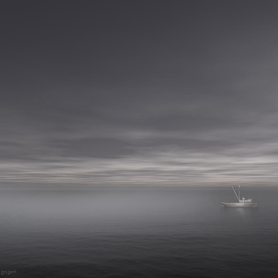 Foggy Stillness Photograph  - Foggy Stillness Fine Art Print