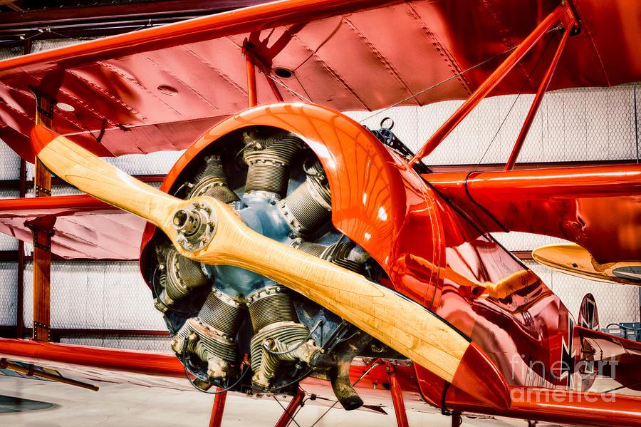Fokker Photograph - Fokker Dr.1 by Inge Johnsson