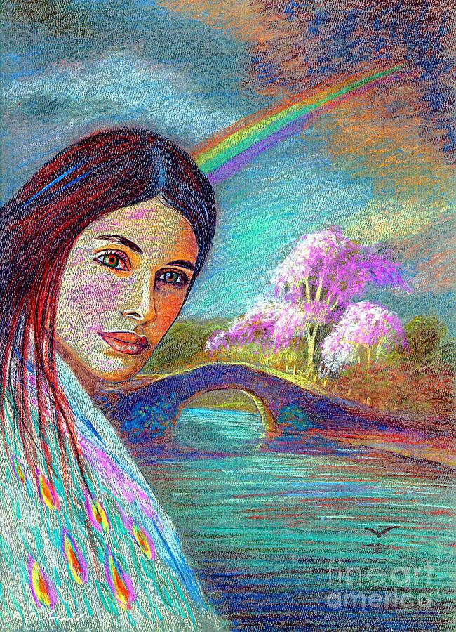 Following The Rainbow Painting  - Following The Rainbow Fine Art Print