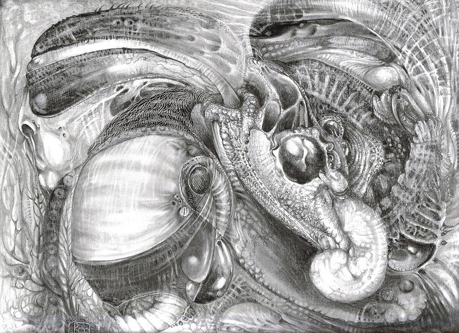 Fomorii Aliens Drawing