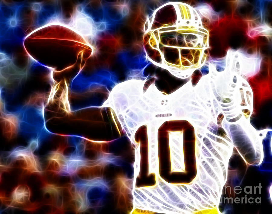 Football - Rg3 - Robert Griffin IIi Photograph  - Football - Rg3 - Robert Griffin IIi Fine Art Print