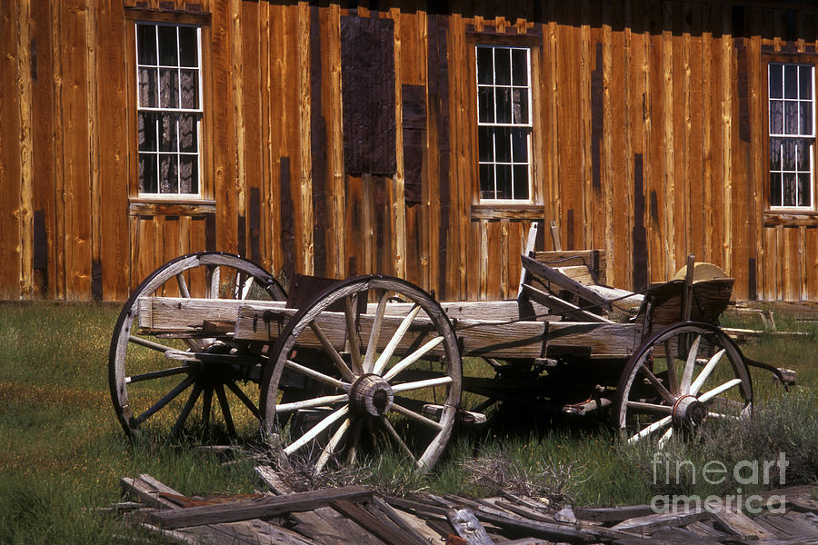 Wagon Photograph - For Spare Parts by Paul W Faust -  Impressions of Light