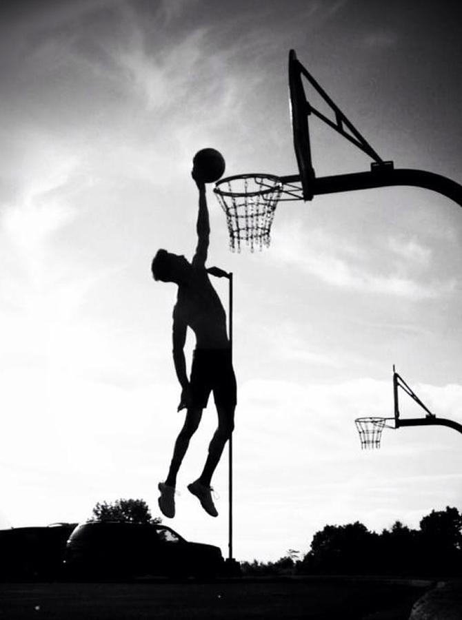 For The Love Of Basketball  Photograph