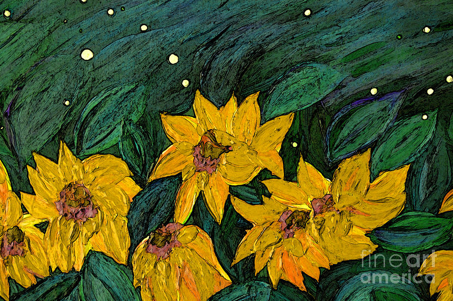 For Vincent By Jrr Painting  - For Vincent By Jrr Fine Art Print
