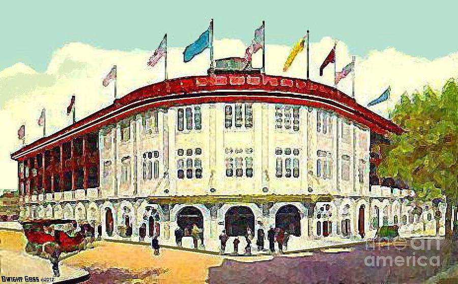 Forbes Field In Pittsburgh Pa In 1910 Painting  - Forbes Field In Pittsburgh Pa In 1910 Fine Art Print