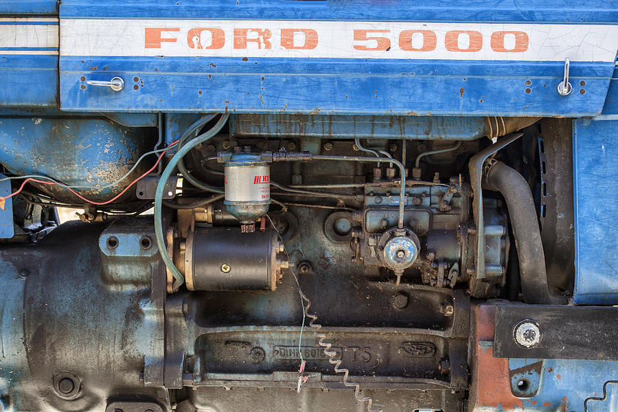 Ford 5000 Tractor Engine : Ford engine diagram f fuse wiring