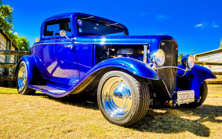 Ford Coupe Hot Rod Photograph