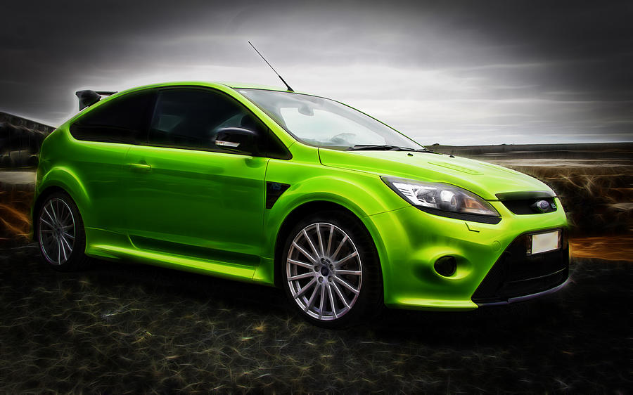 Ford Rs Photograph - Ford Focus Rs by motography aka Phil Clark