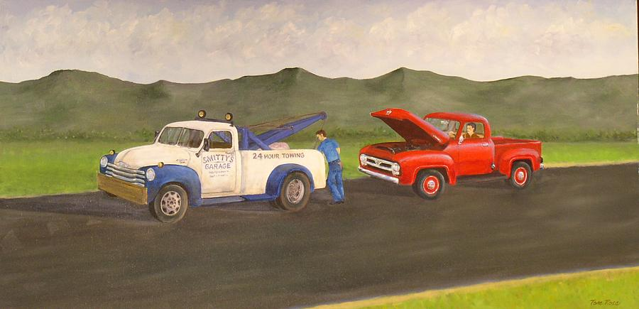 Ford Owners Nightmare Painting  - Ford Owners Nightmare Fine Art Print
