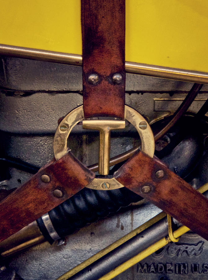 Ford T Hood Strap Photograph