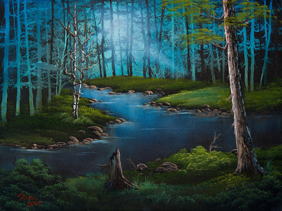 Forest River Painting