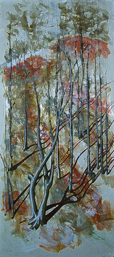 Forest Shadows Painting