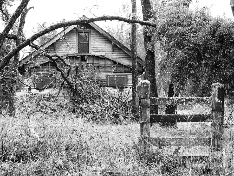 Forgotten Dreams - Bw Photograph