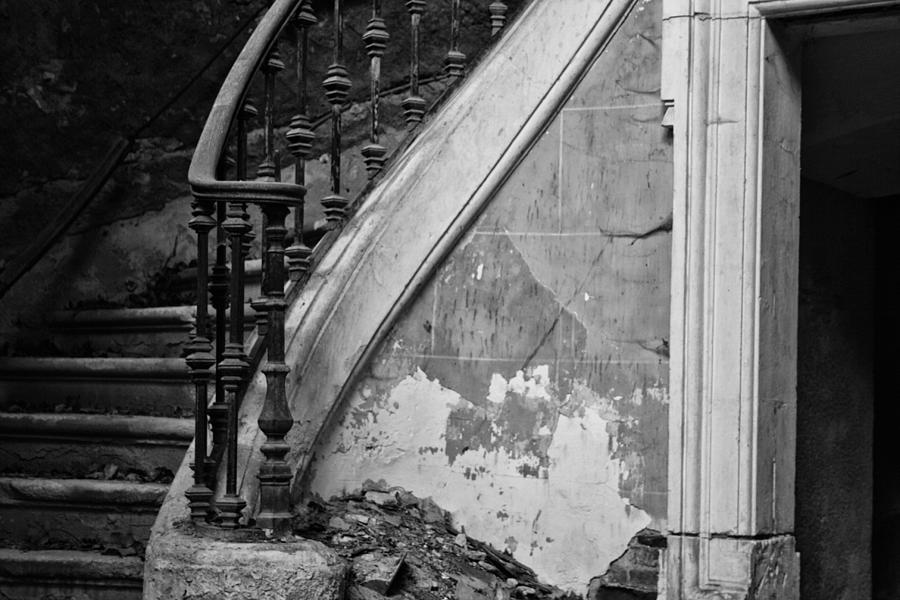 Forgotten Stairs Photograph