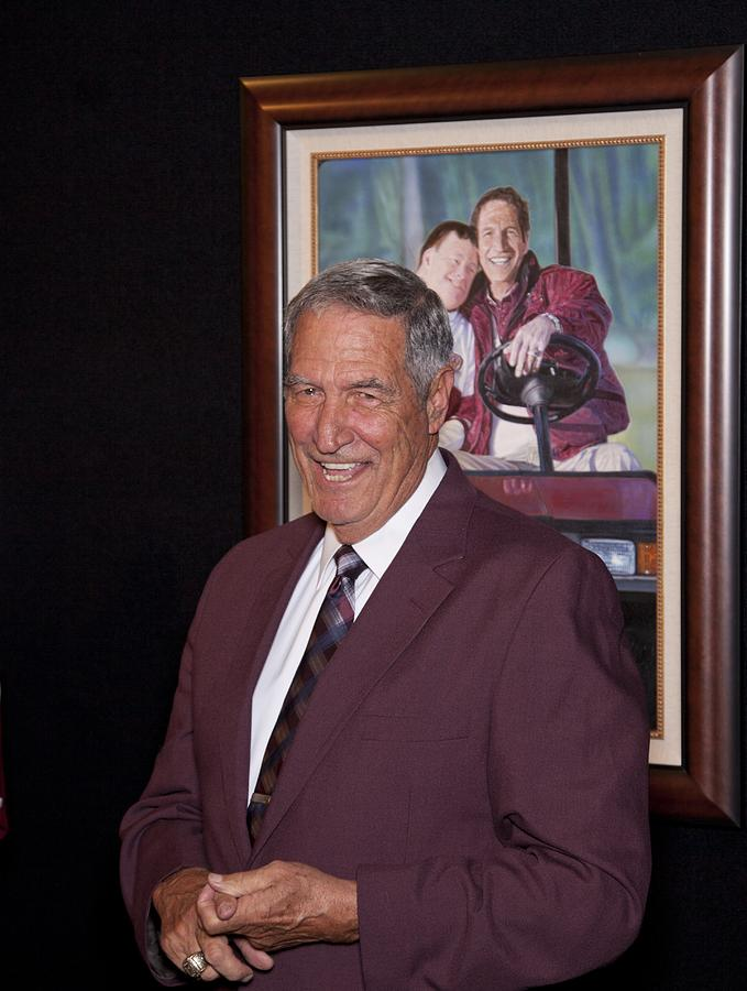Former Coach Of Alabama Gene Stallings Photograph  - Former Coach Of Alabama Gene Stallings Fine Art Print