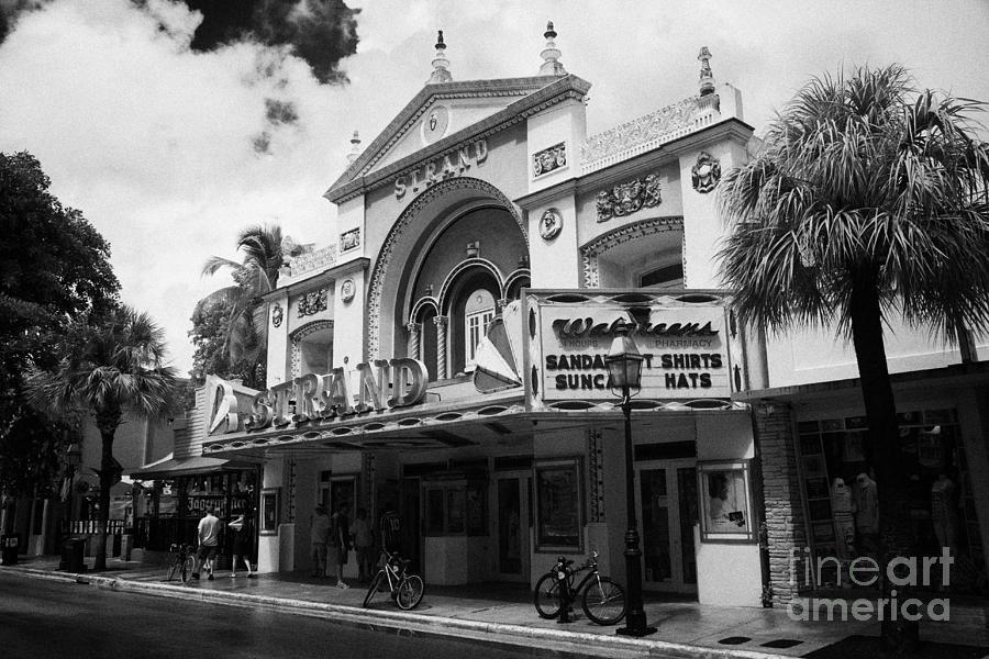 Former strand movie house cinema now a walgreens drugstore duval