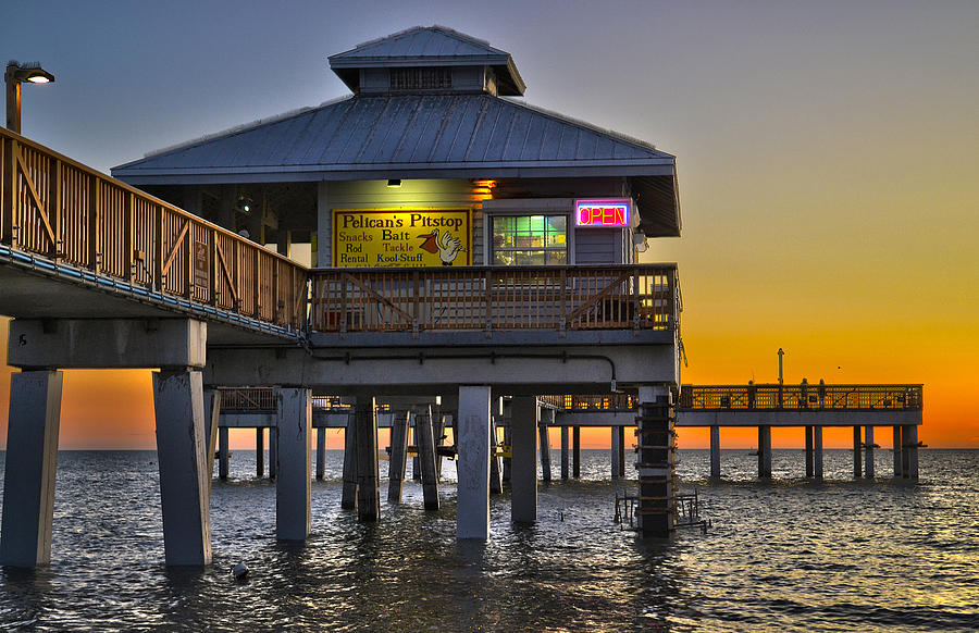 Fort myers pier related keywords fort myers pier long for Fort myers beach fishing pier
