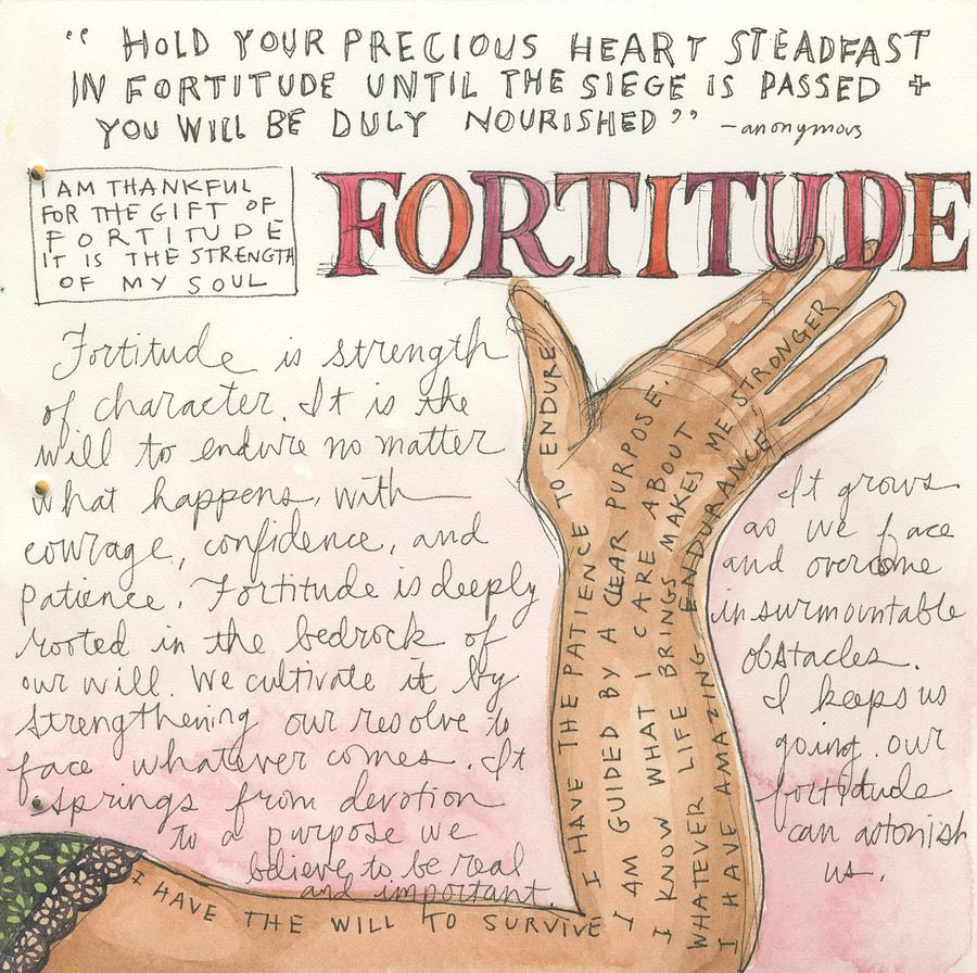 Fortitude | Artsy Wand...