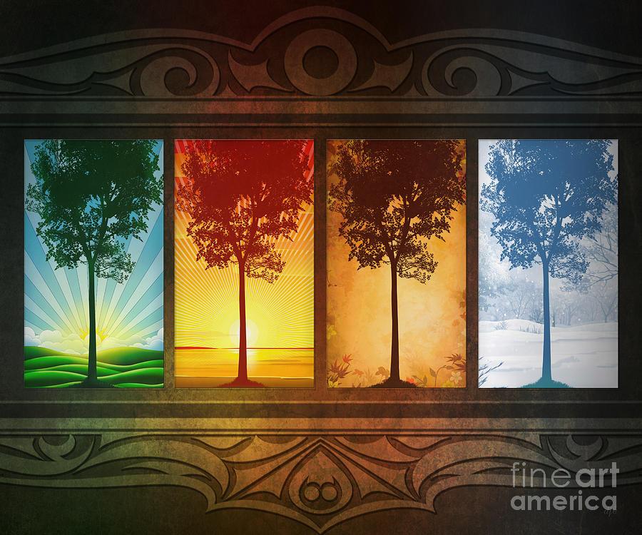 Four Seasons Digital Art