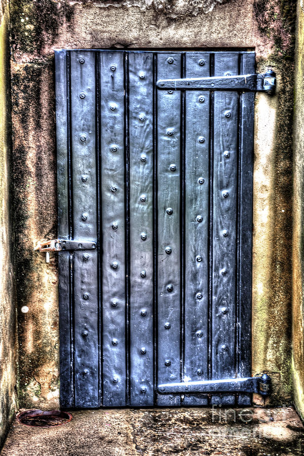 Fourt Moultrie Door Photograph