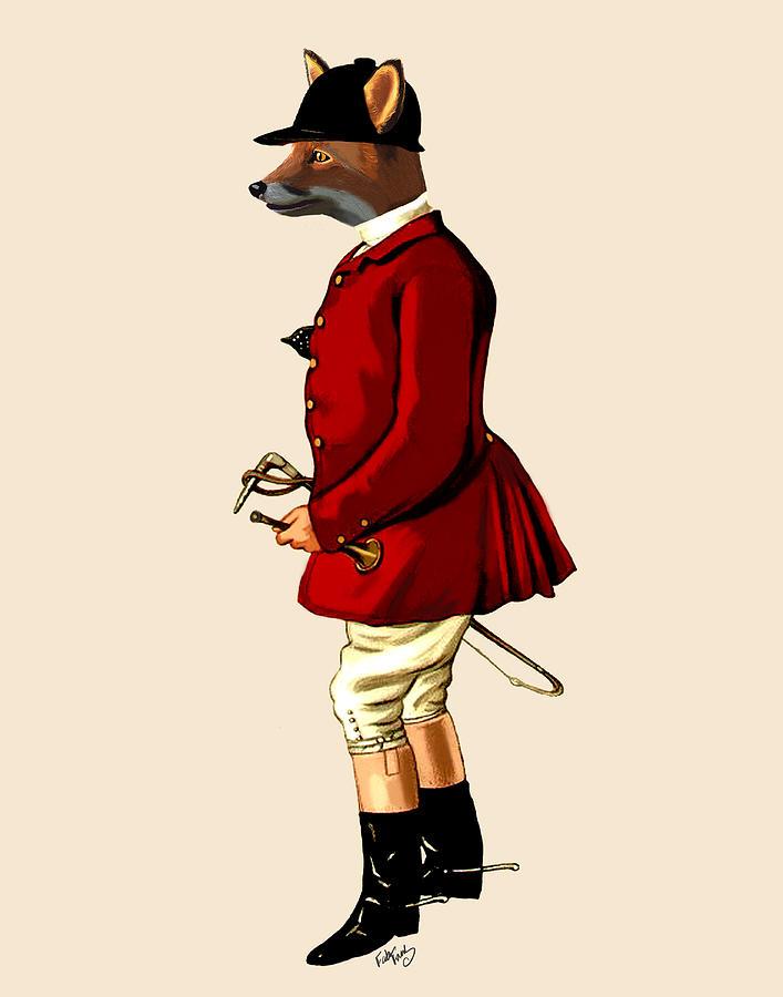 Fox Hunter 1 Digital Art