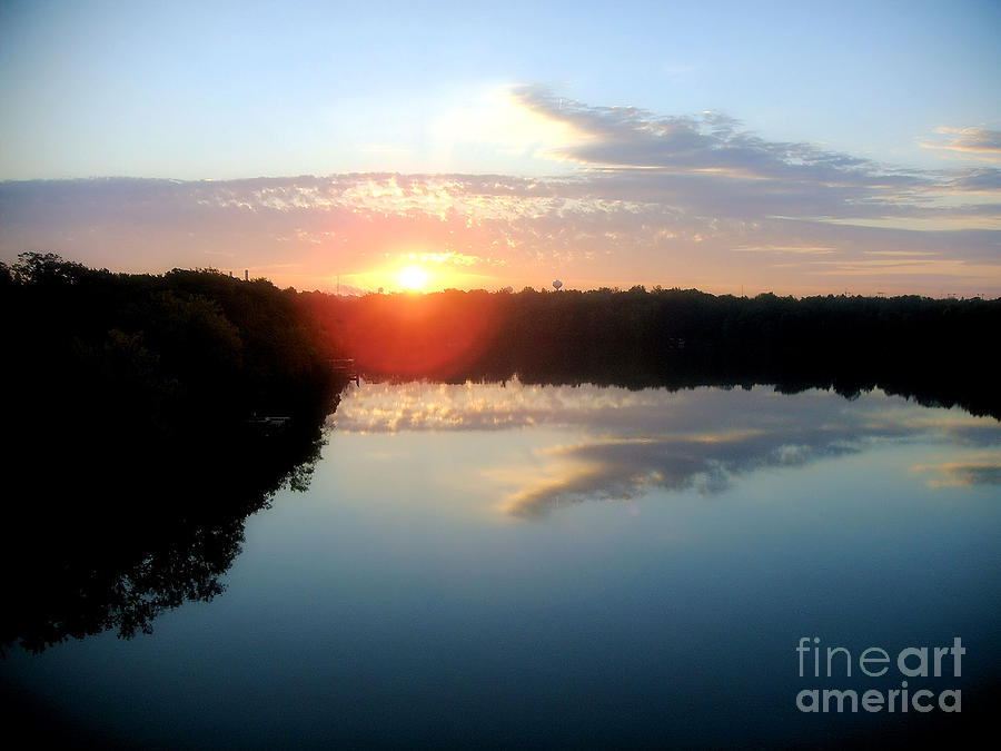 Fox River Photograph  - Fox River Fine Art Print