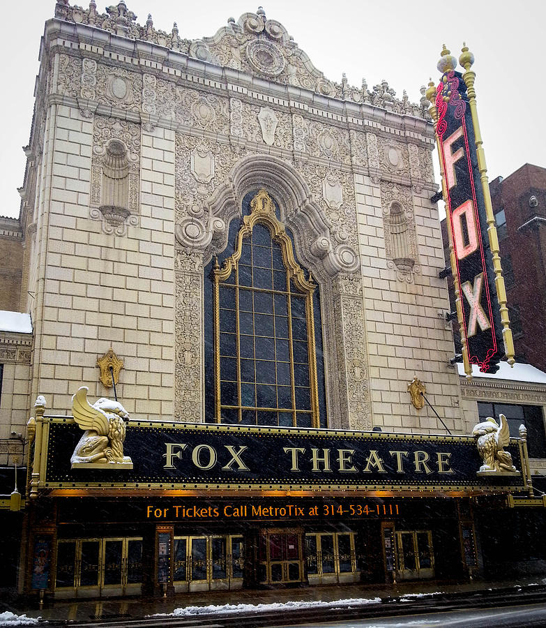 Fox Theatre St. Louis is a photograph by Cathy Smith which was ...