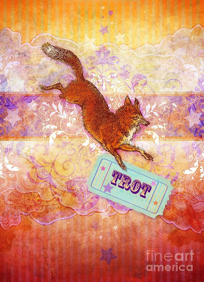 Aimee Stewart Digital Art - Foxtrot by Aimee Stewart