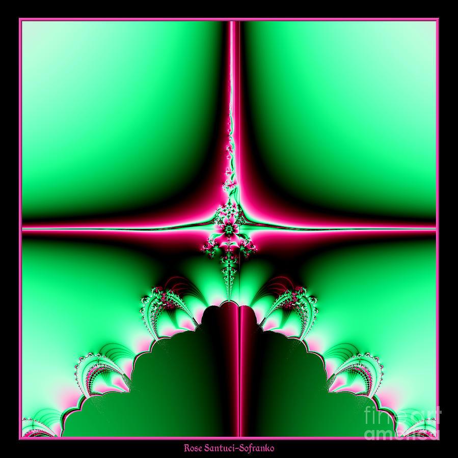 Fractal 14 Star Of Bethlehem  Digital Art