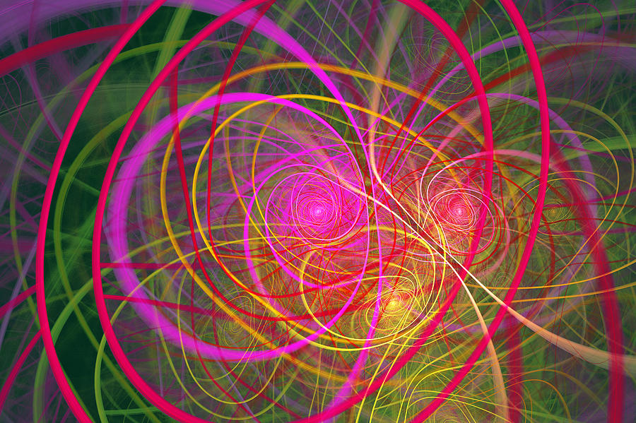 Fractal - Abstract - Loopy Doopy Digital Art