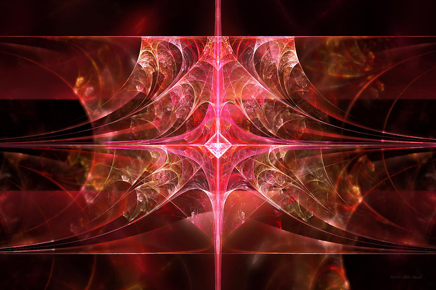 Fractal Photograph - Fractal - Abstract - The Essecence Of Simplicity by Mike Savad