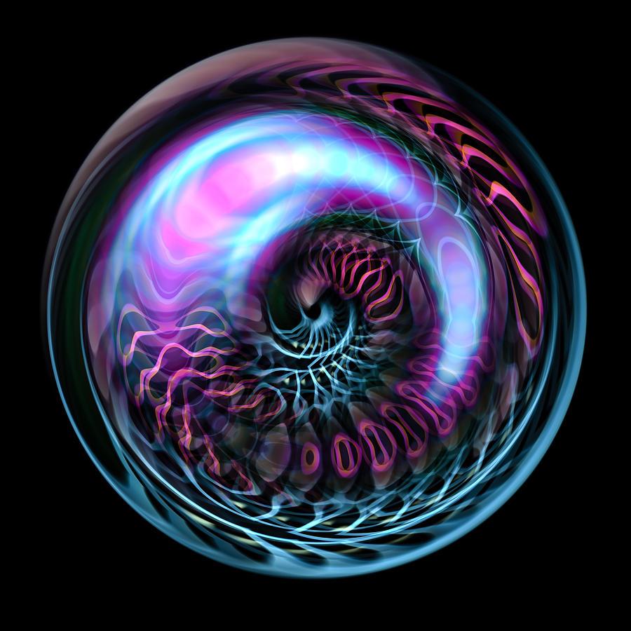 Fractal Bubble is a piece of digital artwork by Hakon Soreide which ...