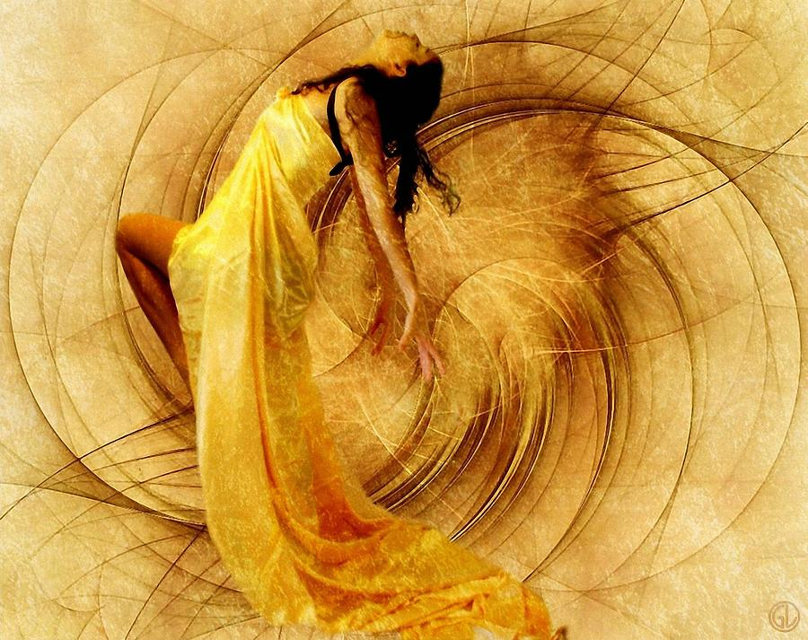 Fractal Dance Of Joy Digital Art  - Fractal Dance Of Joy Fine Art Print
