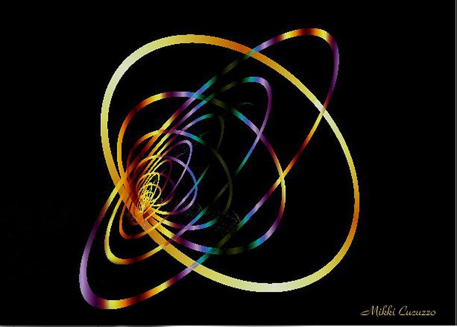 Fractal Hoops Photograph