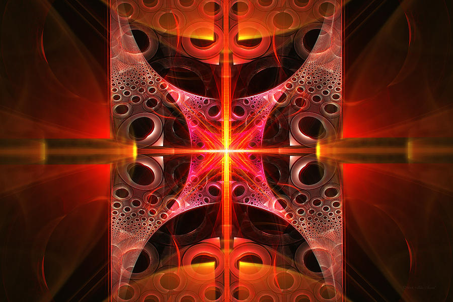 Fractal - Science - Cold Fusion Photograph  - Fractal - Science - Cold Fusion Fine Art Print