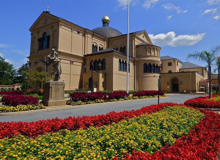 Franciscan Monastery In Washington Dc Photograph