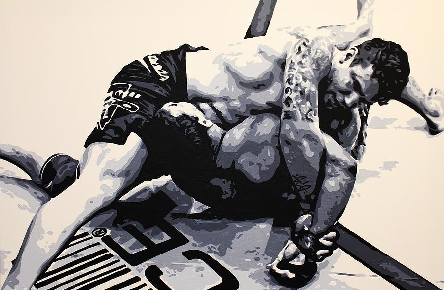 Frank Mir V Big Nog Painting