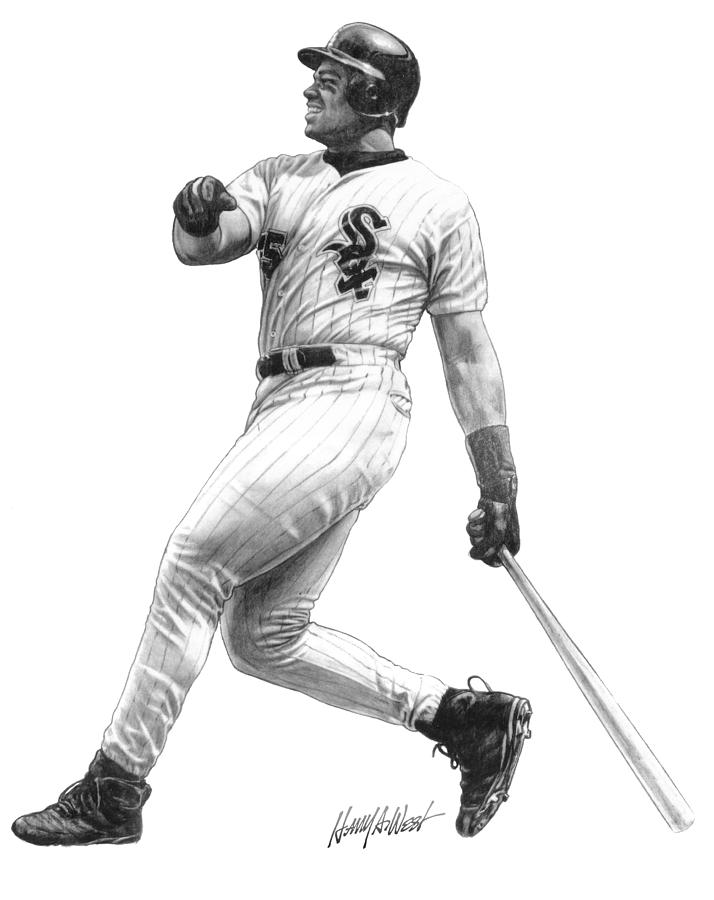 Frank Thomas Drawing