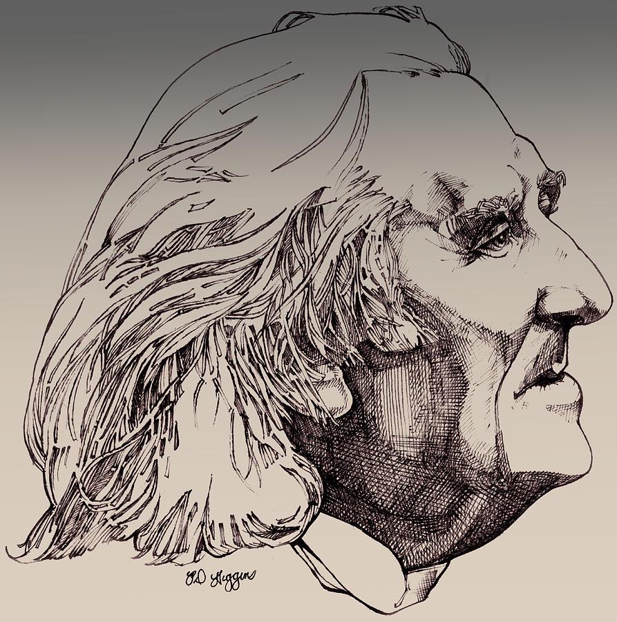 Franz Liszt Photograph - Franz Liszt by Derrick Higgins