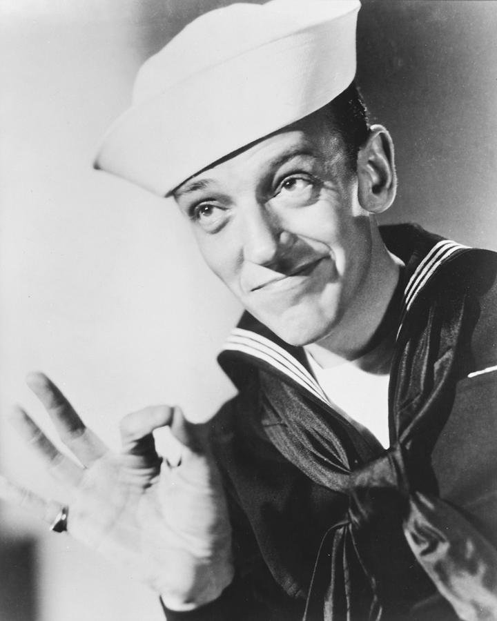 Follow The Fleet Photograph - Fred Astaire In Follow The Fleet  by Silver Screen