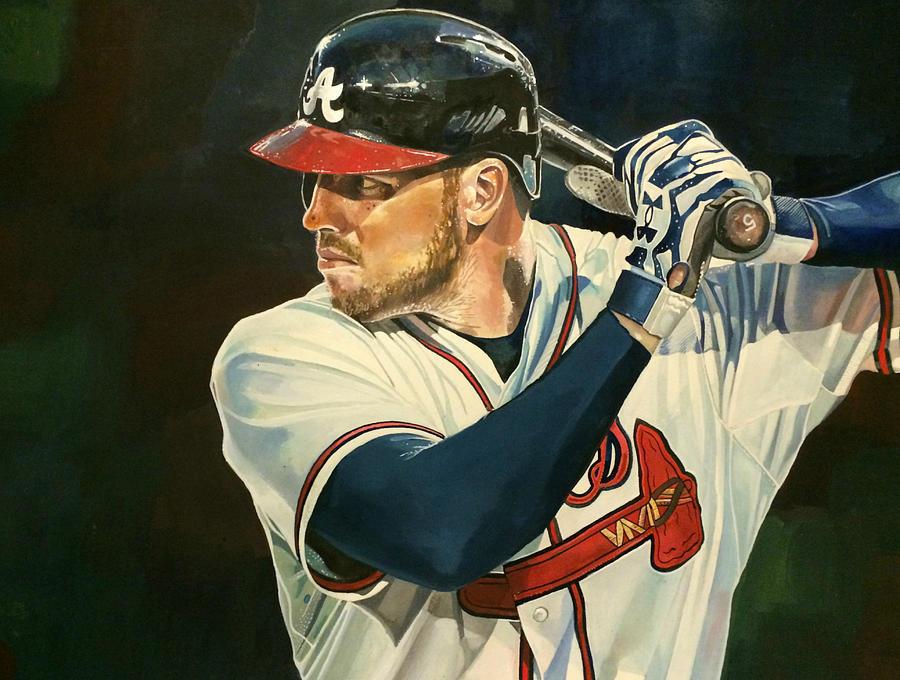 Freddie Freeman Painting