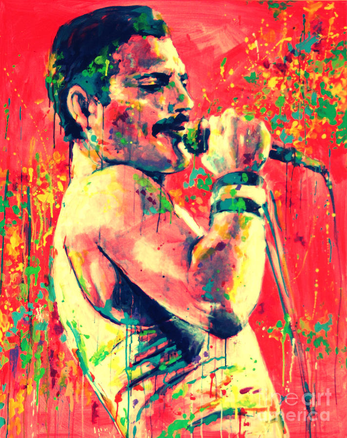 Freddie Mercury Painting