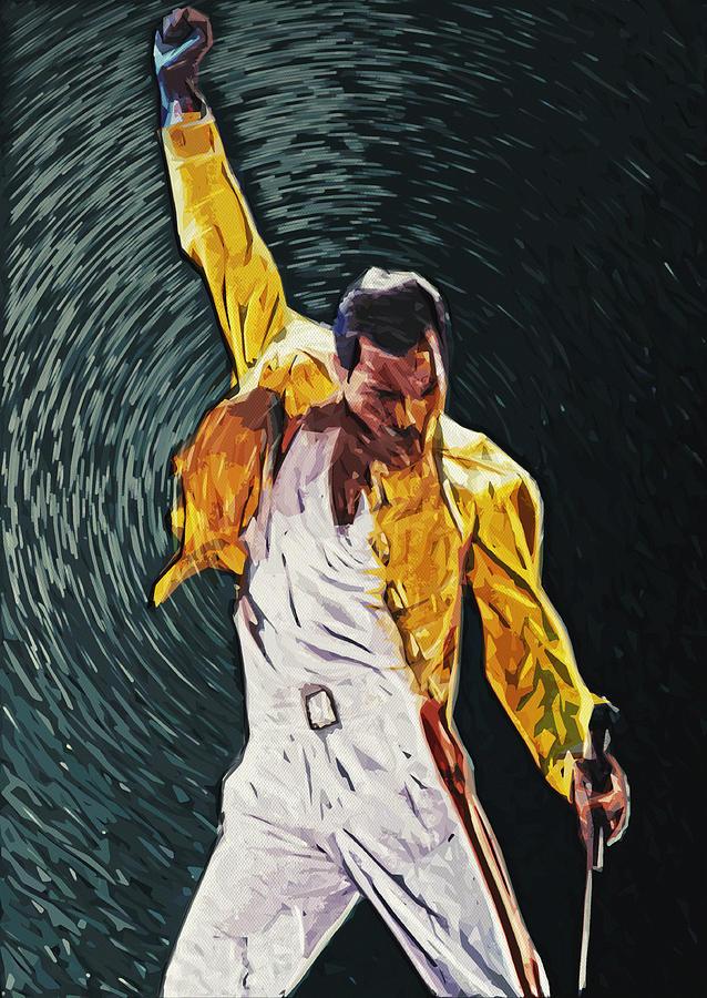 Freddie Mercury Digital Art